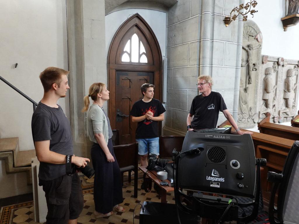 Innenaufnahmen der Ritterkapelle