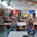 1. Platz (Kategorie 2): Klasse 2d (2019/2020)   Grundschule im Nassachtal