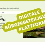 hassfurt-beteiligt.de – Digitale Bürgerbeteiligungsplattform (Update 02.09.2021)